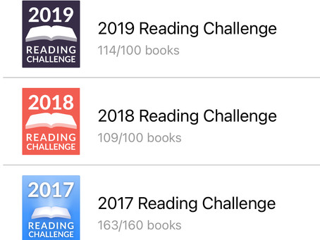 My Reading Year -- 2020