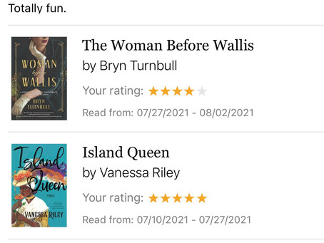 July & August Reads, Part 2
