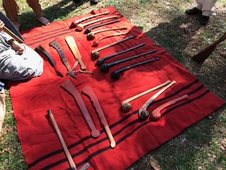 cherokee or Creek weapons.JPG