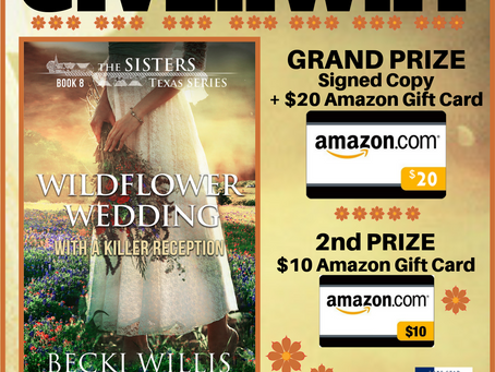 WILDFLOWER WEDDING, by Becki Willis, *Review* Lone Star Book Blog Tour
