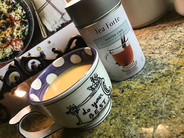 ❤️❤️❤️ #teaforte #winterchai