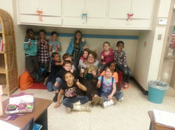 My sweet adopted 2nd Grade Class at Justiss Elementary -- Reading _Because of Winn-Dixie_ = true lov