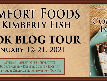 Comfort Foods by Kimberly Fish, LoneStar Book Blog Tour REVIEW