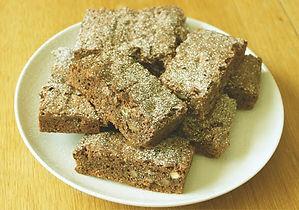 chocolate butterscotch pecan brownies-66