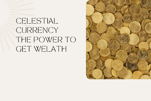 Celestial Currency