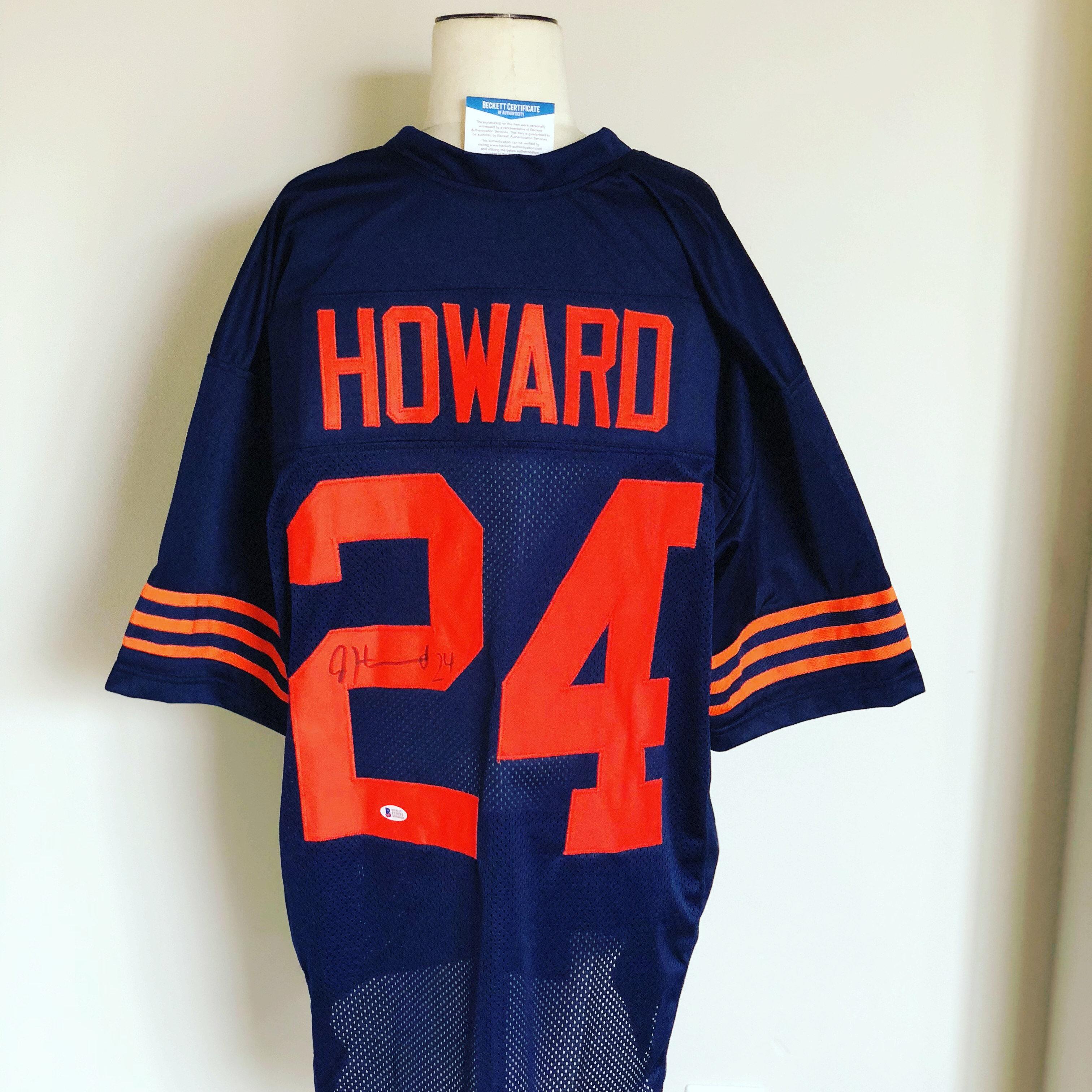 fbf0d37c3df Jordan Howard Signed Color Rush Bears Jersey (Beckett COA)