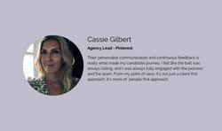 Cassie Gilbert - Agency Lead - Pinterest