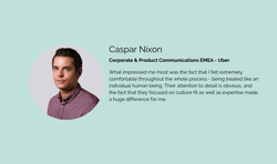 Caspar Nixon - Corporate & Product Commu