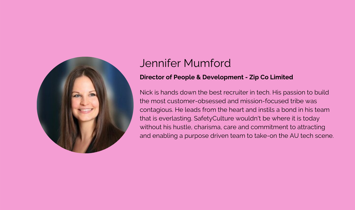 Jennifer Mumford - Director of People &