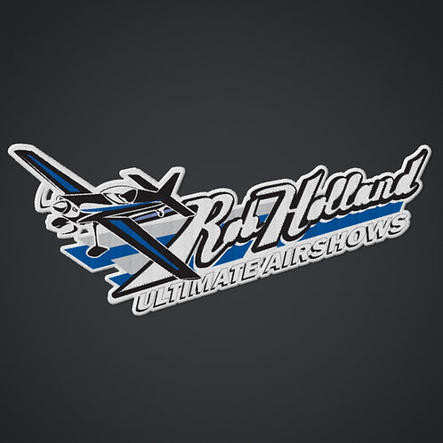 Rob Holland Ultimate Airshows - Logo Patch