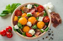 Bol de salade estivale