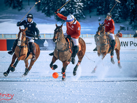 30th St. Moritz Polo World Cup on snow