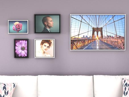 Saal Digital, quando la fotografia incontra l'arte casalinga.