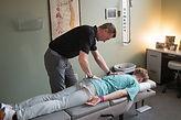 Dr Kris McClusky Chiropractic Adjustment