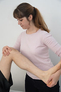 Osteopathy Treatment Leg