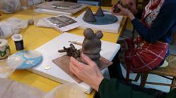 Apprentissage de la sculpture