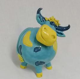 Vache colorée