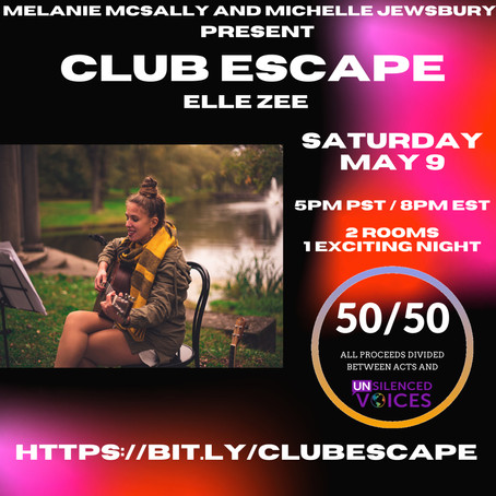 You're Invited to Join Me at Club Escape!
