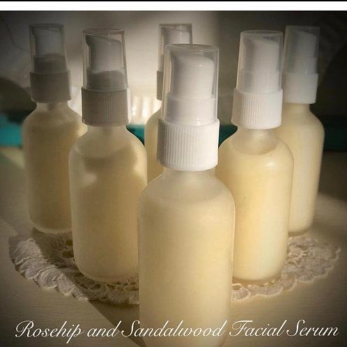 Rosehip & Sandalwood Facial Serum
