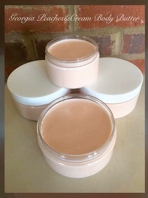 Sweet Georgia Peaches & Cream Body Butter`