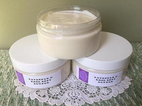 Lavender & Rose Body Butter