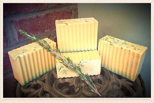 Rosemary & Lemon Shea Butter Soap