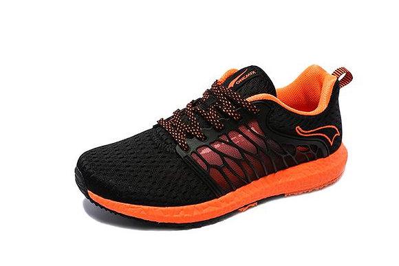 Champion Onemix en negro y naranja Running