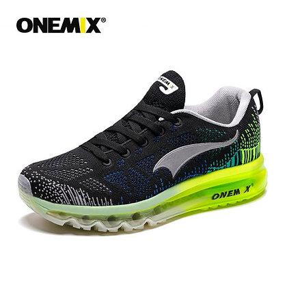Champion Onemix Negro, Gris y Verde