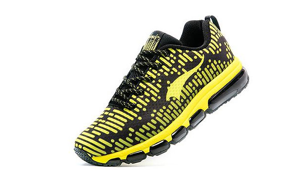 Champion Onemix en Blanco, negro y amarillo Aire Running