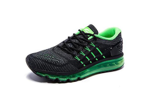 Champion Onemix en Negro y Verde oscuro Aire Running