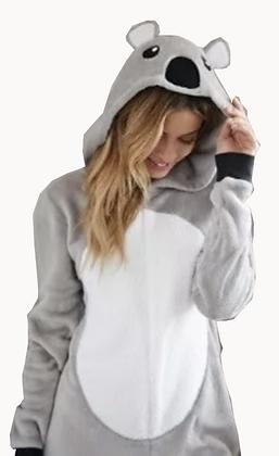 Pijama Koala con cierre