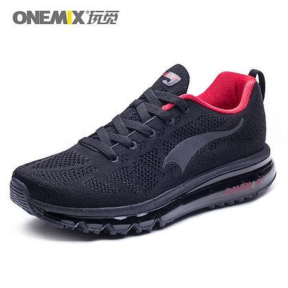 Champion Onemix en negro y rojo Aire Running