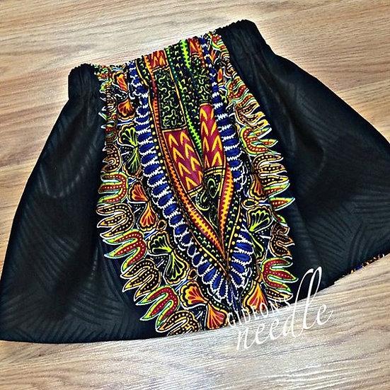 Young Queen Dashiki Skirt