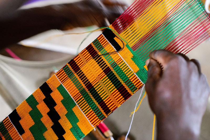 Kente, Fabric, African, Tailor, Ghana, West Africa