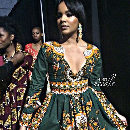 Emerald Green Janet Dashiki