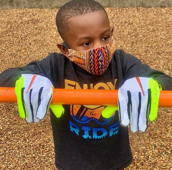 Bespoke African Print Face Mask (Children N95)