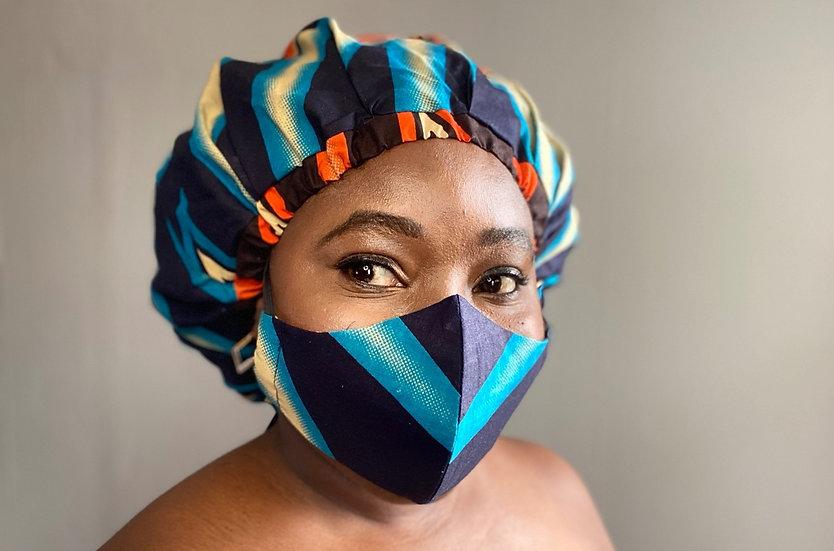 Bibire Bespoke Bonnet + Face Mask