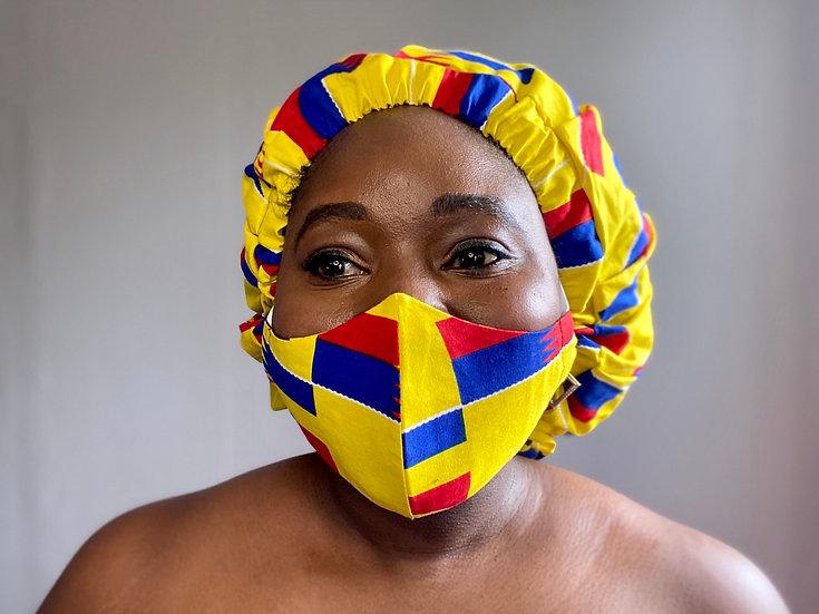 Sika Bespoke Bonnet + Face Mask