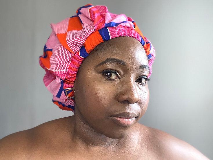 Ashanti Kente Bespoke Bonnet