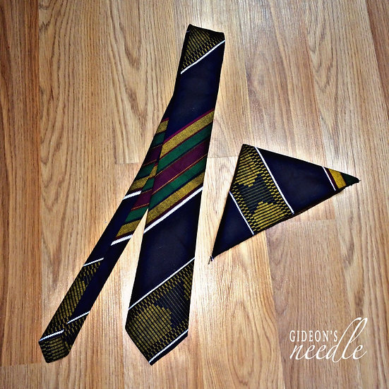 Traditional Tie & Pocketsquare