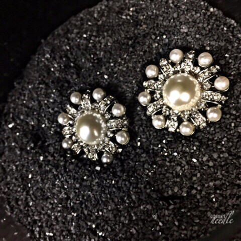 Pearl Star Earrings