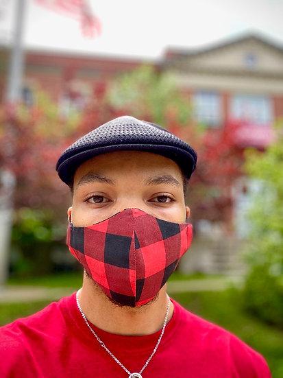 Plaid Bespoke Face Masks (N95 Style)
