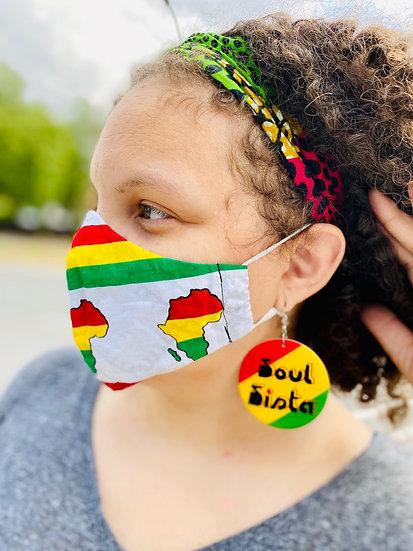 Africa Bespoke Face Masks (N95 Style)