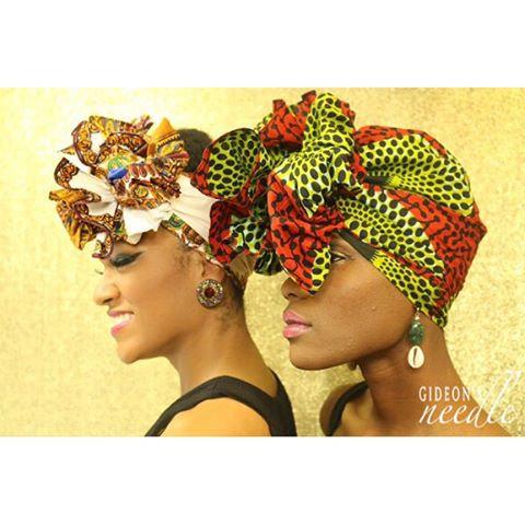 Kumasi Dashiki Head wrap
