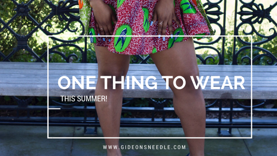 The One Thing You Need to Start Wearing This Summer!