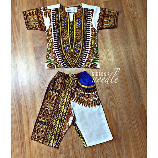 Royal Kumasi Children's Dashiki Set