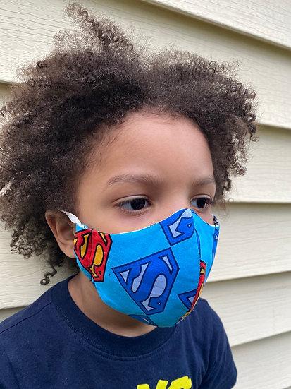 Superman Bespoke Face Mask (Children N95)