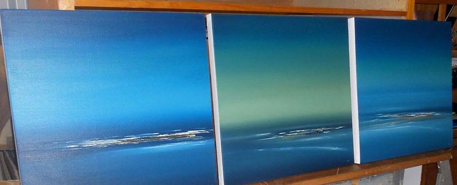 """""""Reef"""" Paintings"""