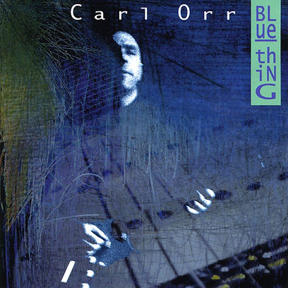 CD Cover Blue Thing by Carl Orr