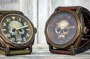 Timothy John hand painted watch dials